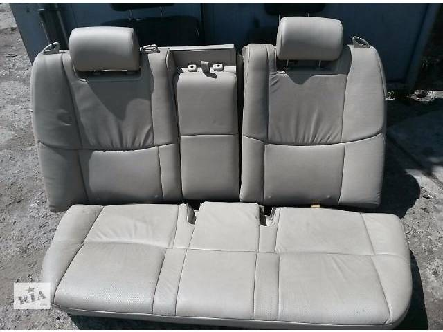 Б/у заднее сиденье для седана Toyota Avalon 2007г- объявление о продаже  в Николаеве