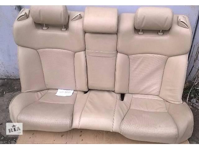 продам Б/у заднее сидение для седана Lexus GS 300 2007г бу в Киеве