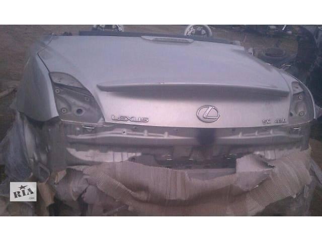 продам Б/у задняя часть автомобиля 61601-24910, 61602-24910 для купе Lexus SC 430 2007г бу в Киеве