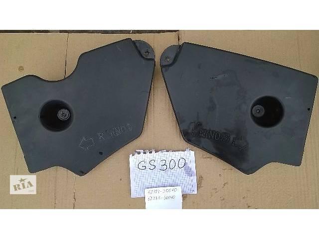 купить бу Б/у защита днища возле заднего колеса 52384-30010, 52383-30010 для седана Lexus GS 300 2007г в Киеве