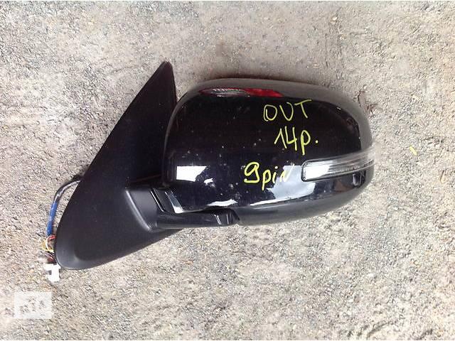продам Б/у зеркало для легкового авто Mitsubishi Outlander бу в Ровно