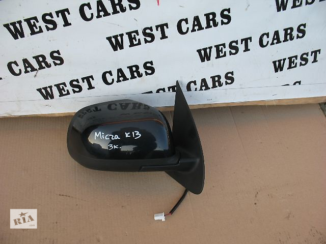 продам Б/у зеркало для легкового авто Nissan Micra Hatchback (5d) 2012 бу в Луцке