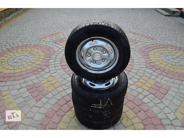 Б/у зимові шини з дисками MICHELIN AGILIS 195/70R15C для Ford Transit- объявление о продаже  в Иваничах