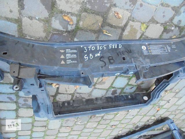 Детали кузова Панель передняя Легковой Skoda SuperB New Хэтчбек 2009- объявление о продаже  в Львове