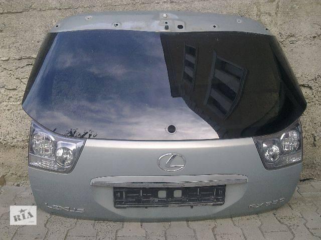 продам б/у Двери/багажник и компоненты Дверь задняя Легковой Lexus RX 2008 бу в Луцке
