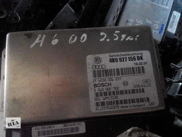 продам б/у АКПП и КПП Блок управления АКПП VW, Audi A6, 2.5tdi, 4B0927156DK Легковой Audi A6 2001 бу в Львове
