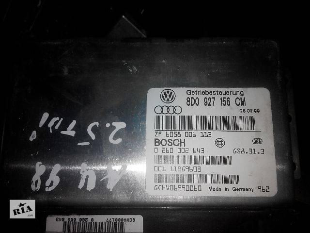 бу б/у АКПП и КПП Блок управления коробкой передач 8D0927156CM audi  Легковой Audi A4 1997 в Львове