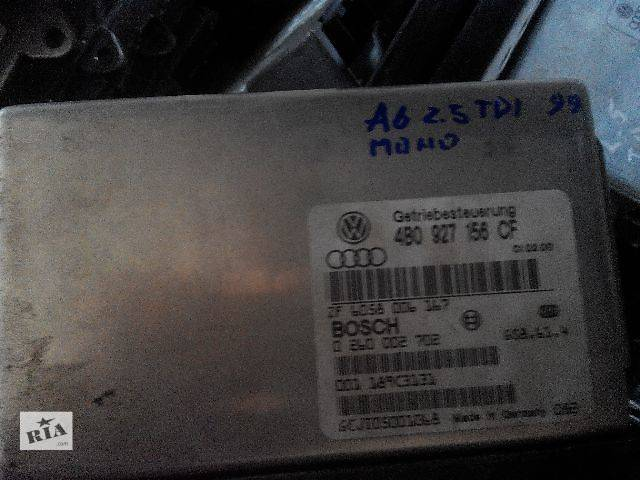 б/у АКПП и КПП Электронный блок управления АКПП 4B0927156CF Легковой Audi A6 2000- объявление о продаже  в Львове