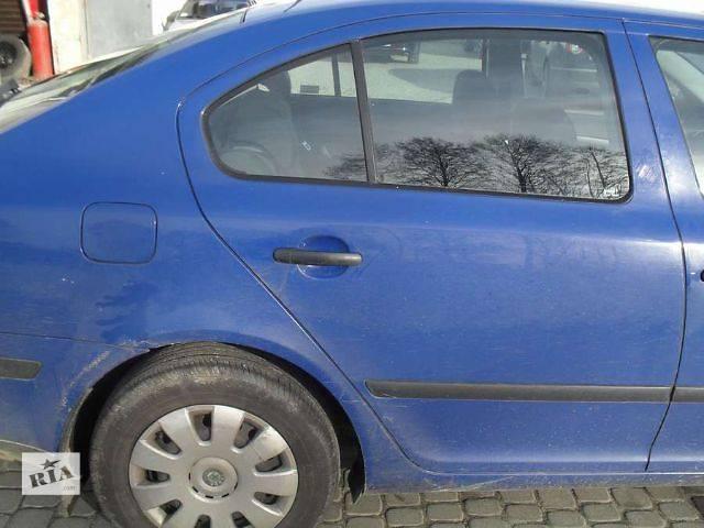 купить бу Б/у дверь передняя для хэтчбека Skoda Octavia A5 2006 в Львове