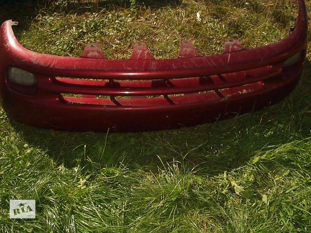 Б/у Бампер передній  Daewoo Nubira  з підфарниками ,( колір бордо ) , хороший стан , доставка .- объявление о продаже  в Тернополе