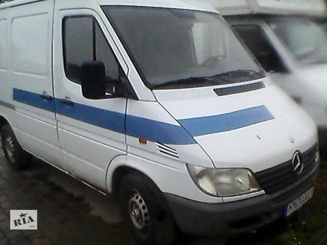 Б/у бампер передній для мікроавтобуса Mercedes Sprinter 313 2003- объявление о продаже  в Ивано-Франковске
