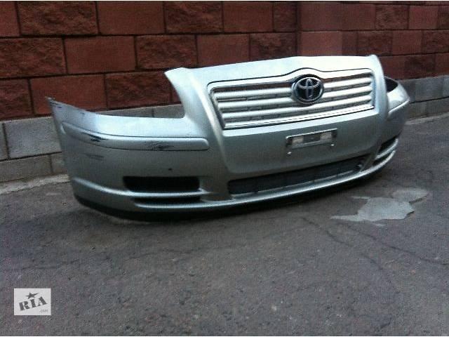 бу б/у  Бампер передний Toyota Avensis Седан 03 - 08р в Ровно