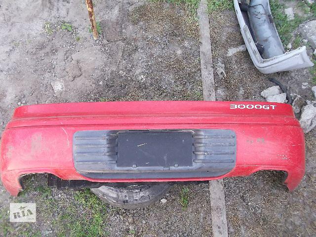 бу Б/у бампер задний для купе Mitsubishi 3000 GT 1993 в Днепре (Днепропетровск)