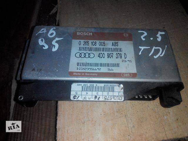 продам б/у Блок ABS AUDI A4 0265108005 4D0907379D Легковой Audi бу в Львове