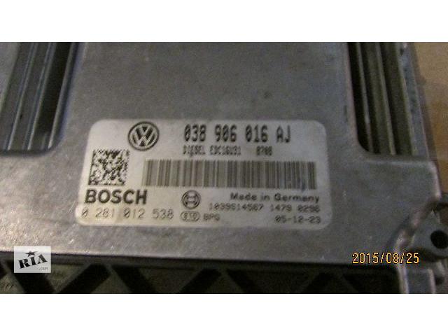 купить бу Б/у блок управления двигателем 038906016AJ для легкового авто Volkswagen T5 (Transporter) 2008 в Ужгороде