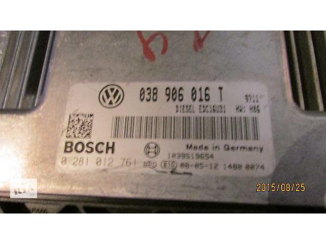 продам Б/у блок управления двигателем 038906016T для легкового авто Volkswagen T5 (Transporter) 2008 бу в Ужгороде