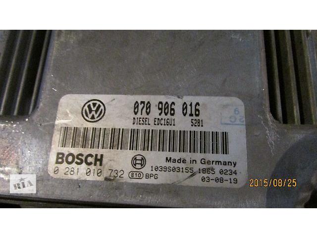 продам Б/у Блок управления двигателем 070906016 EDC16U1 VW T5 Transporter Caravella Multivan 2.5TDi бу в Ужгороде