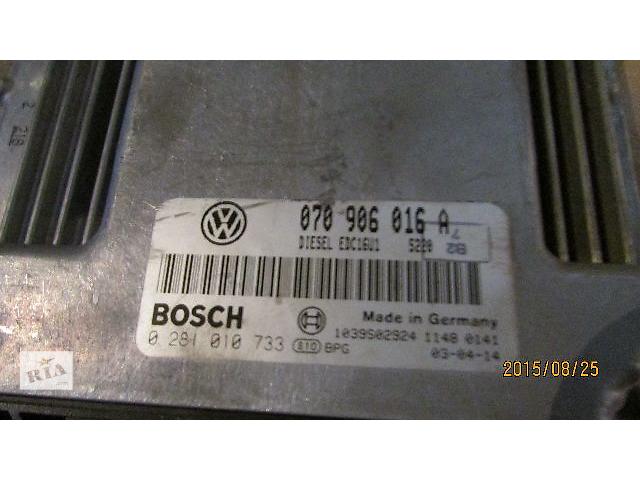 070906016A Блок управления двигателем VW T5 Transporter Caravella Multivan 2.5TD- объявление о продаже  в Ужгороде