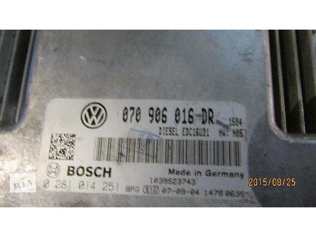 купить бу 070906016DR Блок управления двигателем VW T5 Transporter Caravella Multivan 2.5TDI в Хусте