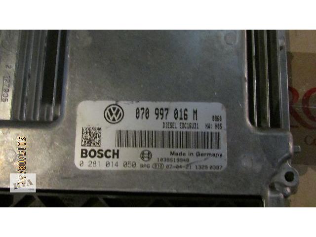 продам Б/у Блок управления двигателем 070997016M VW T5 Transporter Caravella Multivan 2.5TD бу в Ужгороде