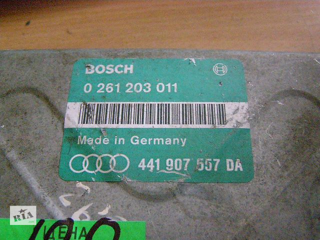 купить бу Б/у блок управления двигателем для легкового авто Audi A8 4.2 V8 0261203011 441907557DA в Новой Каховке