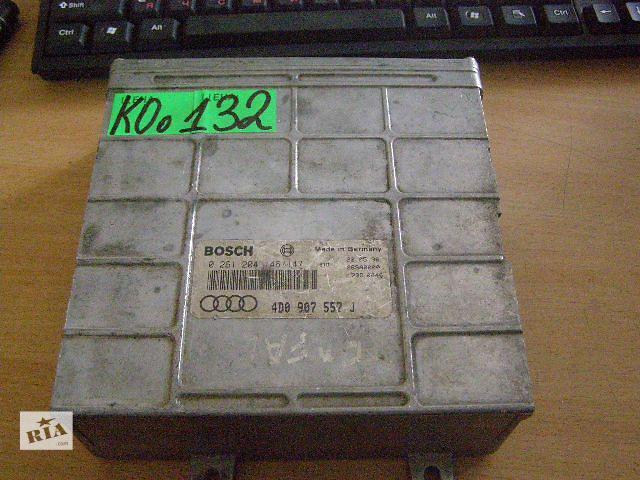 Б/у блок управления двигателем для легкового авто Audi A8 4.2i 0261204146 4D0907557J- объявление о продаже  в Новой Каховке