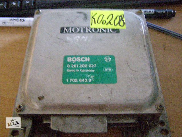 купить бу Б/у блок управления двигателем для легкового авто BMW 3 Series 0261200027  в Новой Каховке