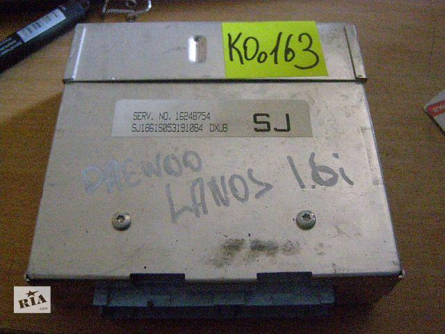 купить бу Б/у блок управления двигателем для легкового авто Daewoo Lanos 1.6i 16248754 в Новой Каховке
