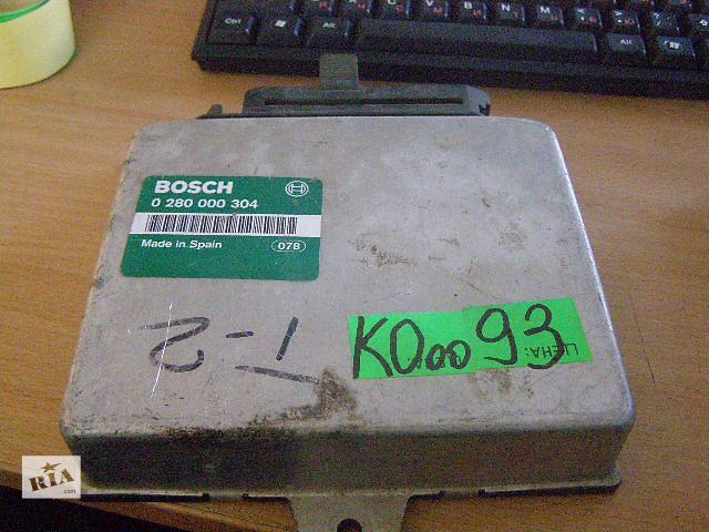 Б/у блок управления двигателем для легкового авто Opel Ascona  1.8i 0280000304- объявление о продаже  в Новой Каховке