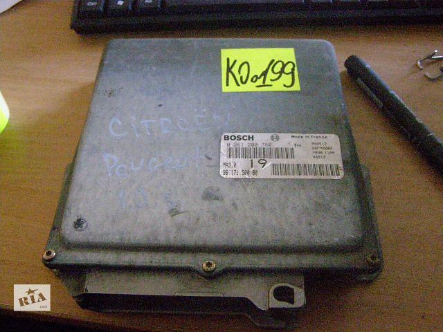 бу Б/у блок управления двигателем для легкового авто Peugeot 106 1.0 0261200780 в Новой Каховке