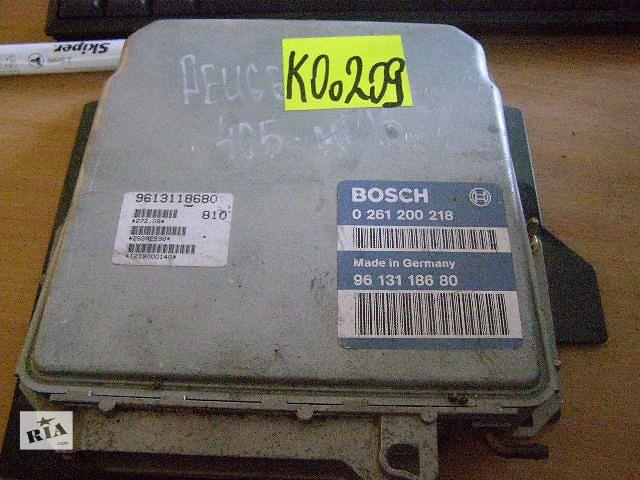 купить бу Б/у блок управления двигателем для легкового авто Peugeot 405  2.0 Mi16  0261200218 в Новой Каховке