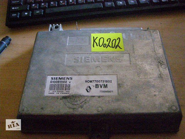 бу Б/у блок управления двигателем для легкового авто Renault 19 1.7 S100811102 в Новой Каховке