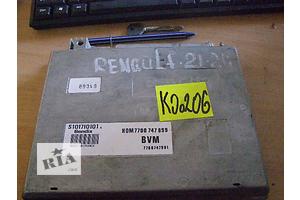б/у Блоки управления двигателем Renault 21
