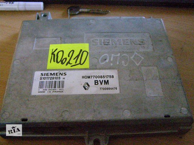 Б/у блок управления двигателем для легкового авто Renault Clio 1.2 S101729103H- объявление о продаже  в Новой Каховке
