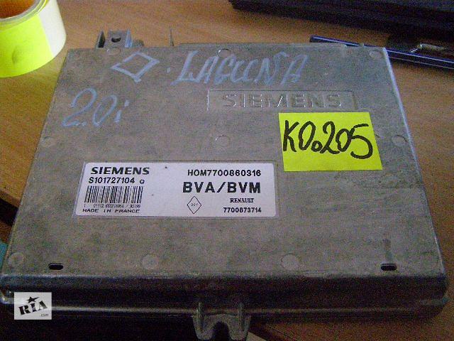 продам Б/у блок управления двигателем для легкового авто Renault Laguna 2.0i S101727104Q бу в Новой Каховке