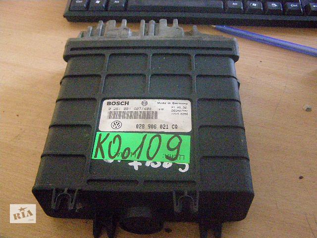 купить бу Б/у блок управления двигателем для легкового авто SEAT INCA 1.9D 0281001407 в Новой Каховке