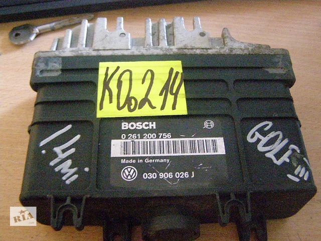 бу Б/у блок управления двигателем для легкового авто Volkswagen Golf IIІ 1.4mi 030906026j 0261200756 в Новой Каховке