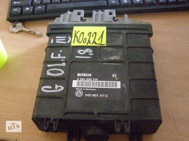 бу Б/у блок управления двигателем для легкового авто Volkswagen Golf IIІ 1.8mi 0261200714 1HO907311C в Новой Каховке