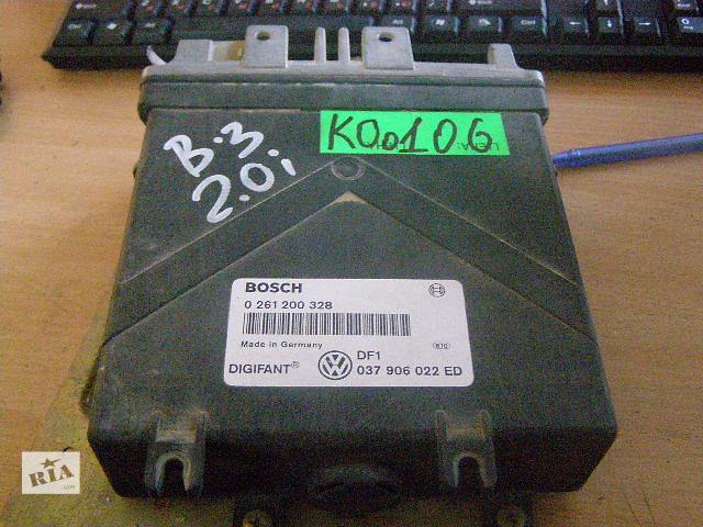 купить бу Б/у блок управления двигателем для легкового авто Volkswagen PASSAT B3 2.0i 0261200328 в Новой Каховке