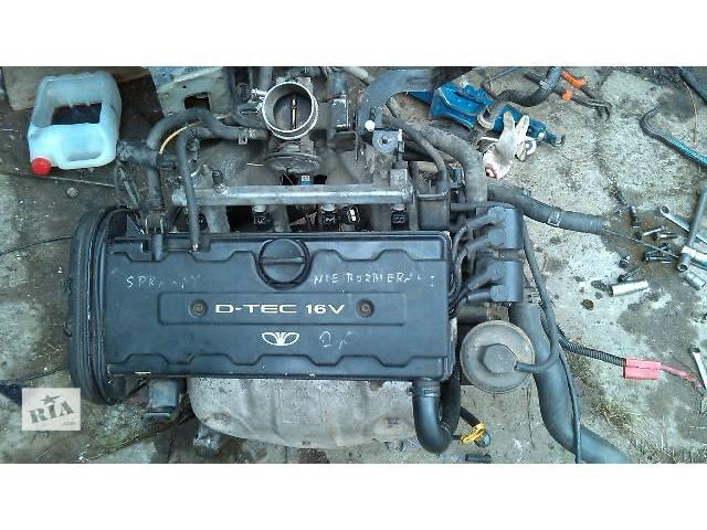 бу Б/у Детали двигателя Двигатель Легковой Daewoo Nubira Седан 1998 в Львове