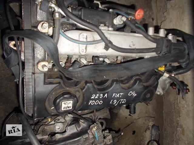 продам Б/у Детали двигателя Двигатель Легковой Fiat Doblo 2000-2004 223A7000 бу в Ровно