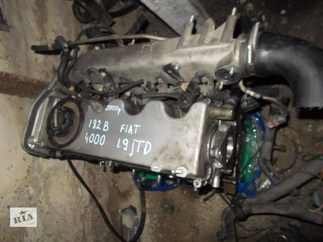 купить бу Б/у Детали двигателя Двигатель Легковой Fiat Doblo 2000-2004 182B4000 в Ровно