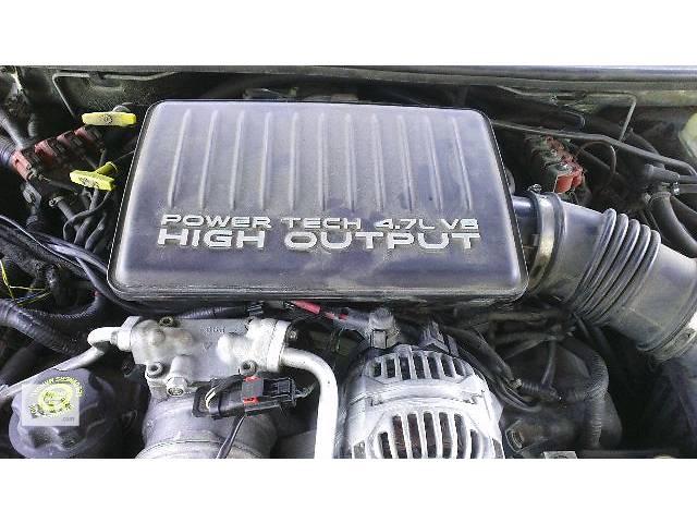 бу б/у Детали двигателя Двигатель Легковой Jeep Grand Cherokee Overland 2002 в Киеве