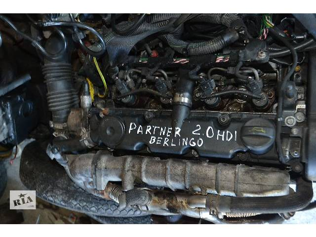 б/у Детали двигателя Двигатель Легковой Peugeot Partner 2.0HDI- объявление о продаже  в Ковеле