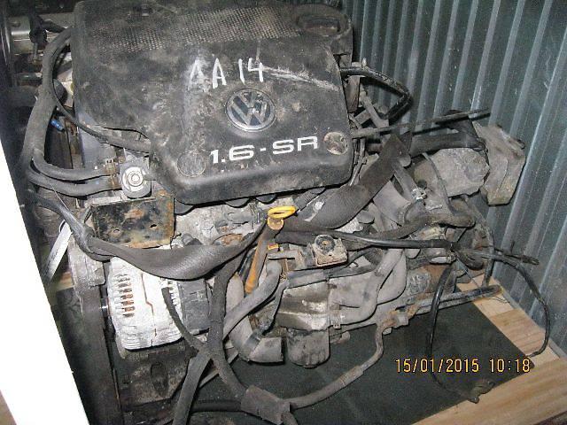 купить бу б/у Детали двигателя Двигатель Легковой Volkswagen Golf IV 1999  (AKL) в Киеве