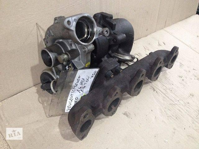 купить бу б/у Детали двигателя Турбина 54359700009 Citroen C2 1.4 в Луцке