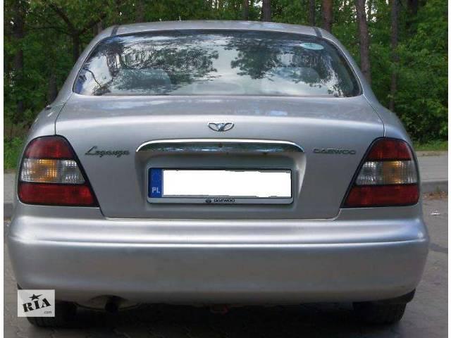 бу б/у Детали кузова Багажник Легковой Daewoo Leganza 1998 в Львове