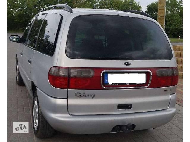 купить бу б/у Детали кузова Багажник Легковой Ford Galaxy 1997 в Львове