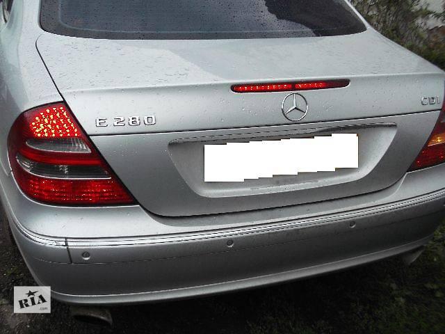 бу Б/у Детали кузова Багажник Легковой Mercedes E-Class 2005 в Львове