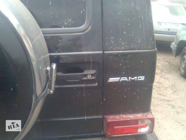 продам Б/у Детали кузова Багажник Легковой Mercedes G-Class 2002 бу в Львове